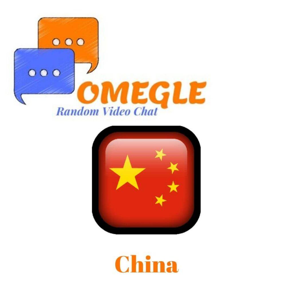 China Omegle random video chat