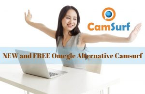 NEW and FREE Omegle Alternative Camsurf